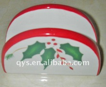 personalized christmas porcelain ornaments