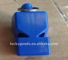 Promotional led whistle keychain