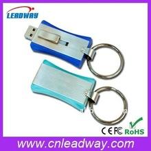 Mini push-n-pull keyring promotional gift USB memory key