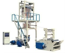 High Speed PE Plastic Extrusion Film Machine
