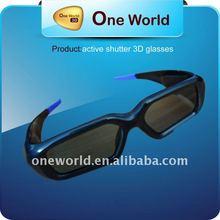 Universal 3D Active Shutter TV Glasses for Sony ,Sharp,Samsung,Panasonic and Toshiba