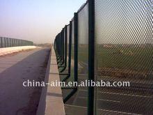 PVC coated border fence