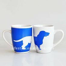 11OZ ceramic coffee mug with dog design