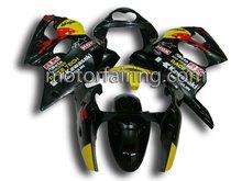 2011 New Body motorcycle for kawasaki zx6r fairing kits 00-02