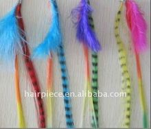 new hottest feather hair extension/synthetic feather hair extension/hot feather extension