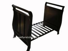 jarrah baby sleigh cot/ baby crib/baby bed