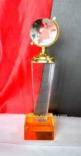 Blank Crystal globe trophy