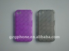 PROTECTIVE TPU case(circle) for new iphone4/4S(TPU material)