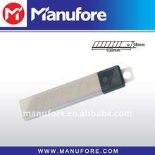 Normal 18mm spare blades case,10-pack carbon steel blade