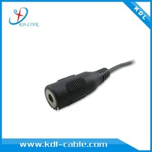 3.5mm female plug with 6ft cable