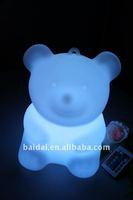 LED bear shaped pet toy