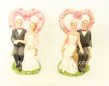 2012 Polyresin Wedding Decoration