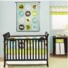 Zoo 6pcs blue baby crib bedding set