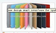 new design smart case for ipad all color