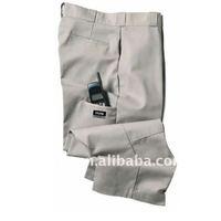 Men's western-style cotton wrinkle free leisure pants