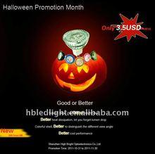 Energy saving and money saving LED spotlight MR16 colourful bulb 3W