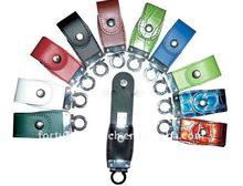 leather usb key/pen drive 128gb leather
