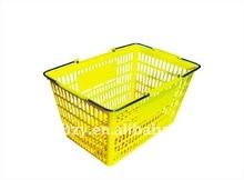 Shopping Basket with Metal Handles