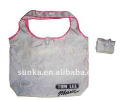 T Shirt Fold Up Polyester Bag (SJ-F-040)