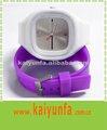 De silicona de colores reloj de la jalea ss.com reloj