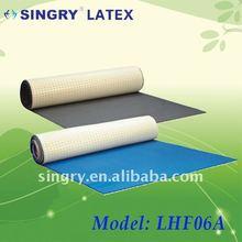 dual-density latex foam