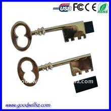 Oem Promotional Gift The Key USB Flash Drive 2.0