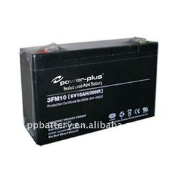 Lead acid battery 3FM10(6V 10AH/20HR)