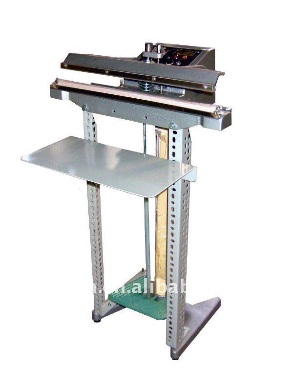 High efficiency pedal impulse sealer machine