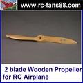 hawk 2 hoja de madera de la hélice c 34x12 para rc avión