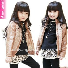 2012 fashion child new year grils jacket