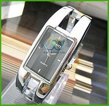 Perfect Rectangle Fab Lady Girl Bangle Wrist Watch for Lady Wrist Watch