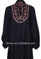 cotton embroidery with bead men kaftan& tunika