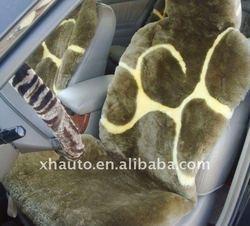 Customized Sheepskin Car Seat Covers