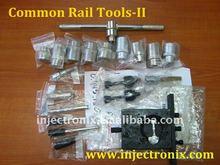 Herramientas para desmontar y montar inyectores de CR