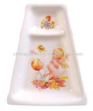 Imitate Ceramic,plastic tray,plastic plate