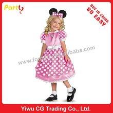 Pc-0021 bella ragazza partito mickey mouse vestito