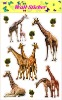 Removable Real Animal Wall Stickers