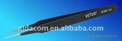 Antimagnetic,antiacid fuction,Anti static function,Vetus ESD-14 Tweezers
