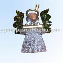 Glass Angel,glass figurine,hanging decoration