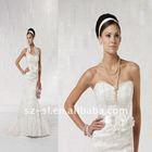 Vintage Halter Lace Backless Wedding Dress 2011 in Lebanon SL-x0277