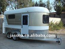 Custom paint horse float - 2 horse angle load delxue