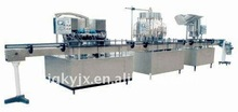 washing,filling and sealing production line for pure water