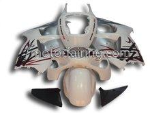 Motorcycle ABS Fairing Kit For Suzuki GSXR1300R 96-07 White&Silver&Black