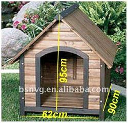 Solid Wooden Dog kennel