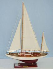 gỗ mô hình Sail tàu đồ chơi