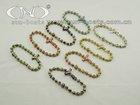All Cloisonne Rosary Bracelet with Cloisonne Cross Item:SJDX165
