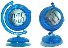 Novelty Digital Clock With Globe Shape
