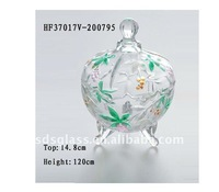 glass candy bowl HF37017V-200795
