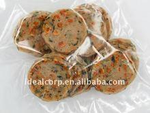 Pollo veggie picaduras de snacks para mascotas