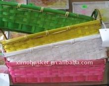 beautiful bamboo storage basket